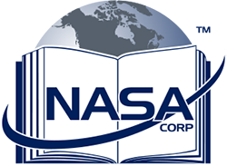 North American Standards Assessments Corp. (NASA Corp.) Mobile Retina Logo